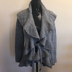 XXI gray cardigan